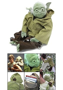 Yoda Plush Backpack