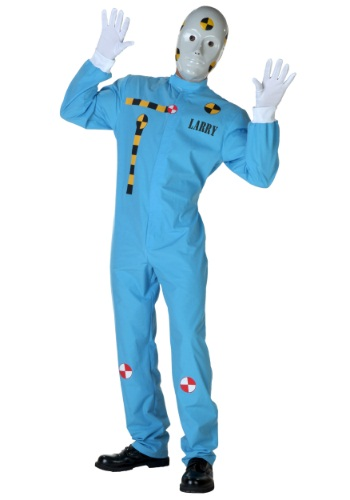 Plus Size Crash Test Dummy Costume