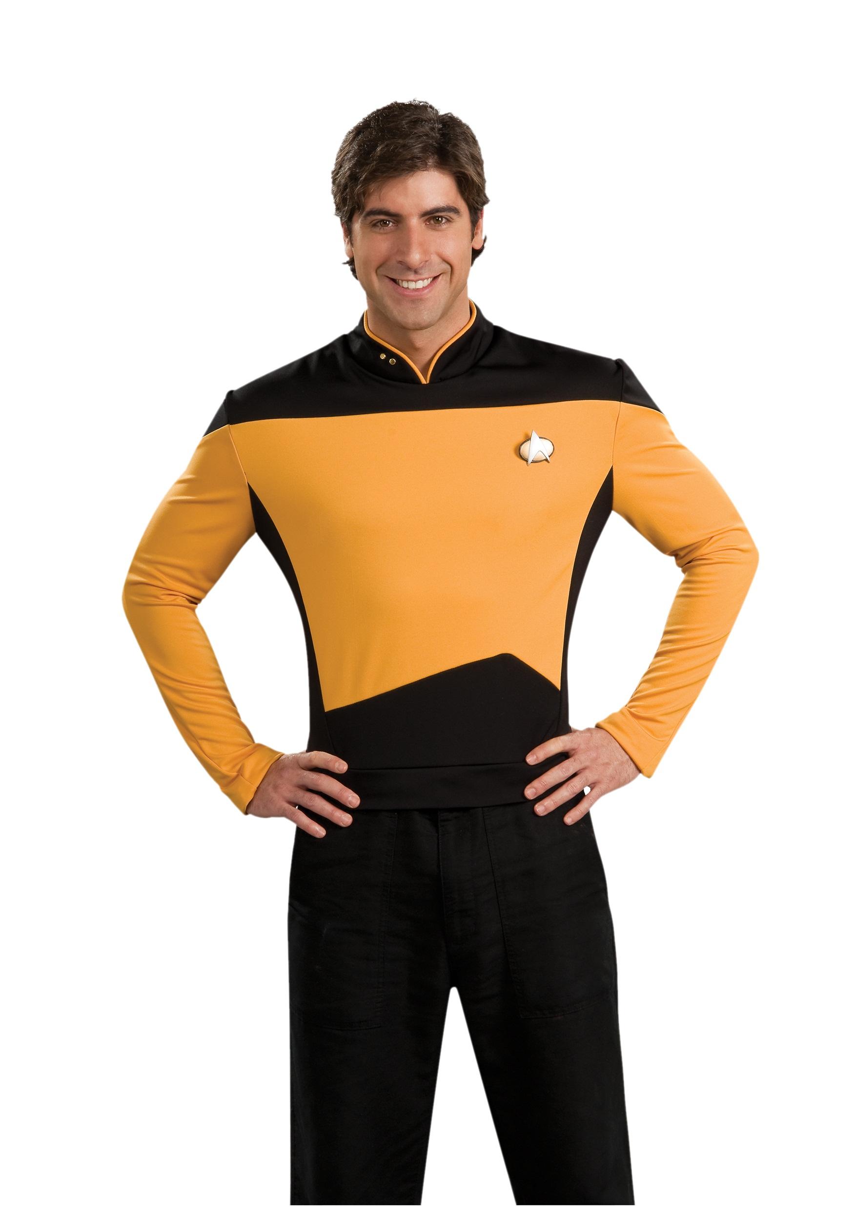 latex star trek uniform