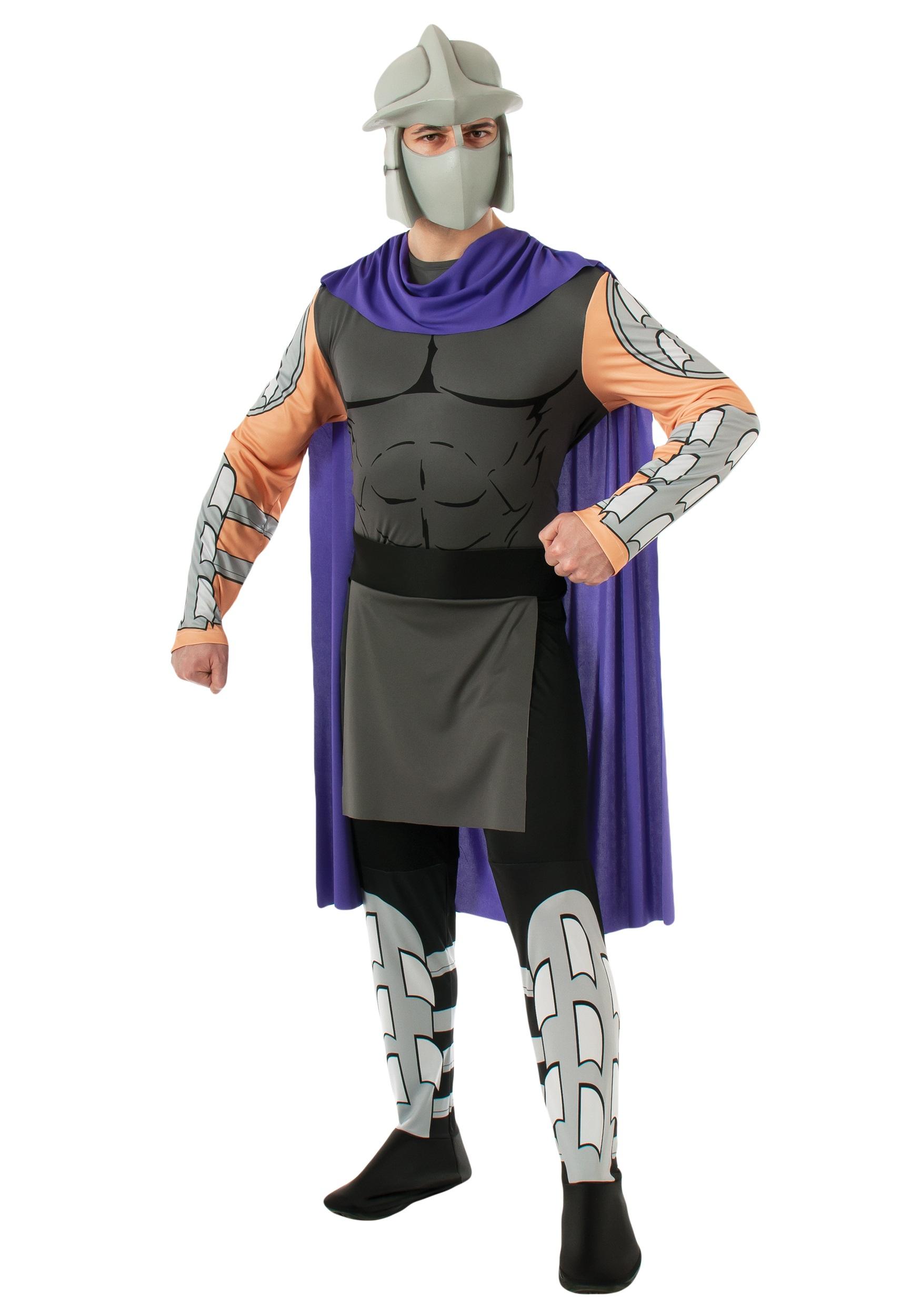 Shredder TMNT Teenage Mutant Ninja Turtles Fancy Dress Halloween Child Costume