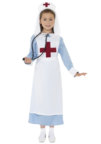 Girls WWI Nurse Costume