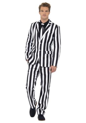 Mens Humbug Stripe Suit