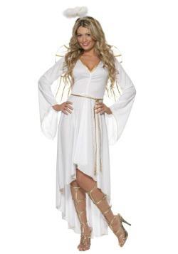 Womens High-Low Angel Costume