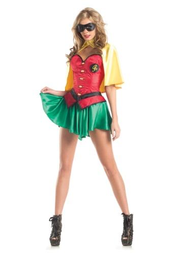 Womens Miss Robin Costume