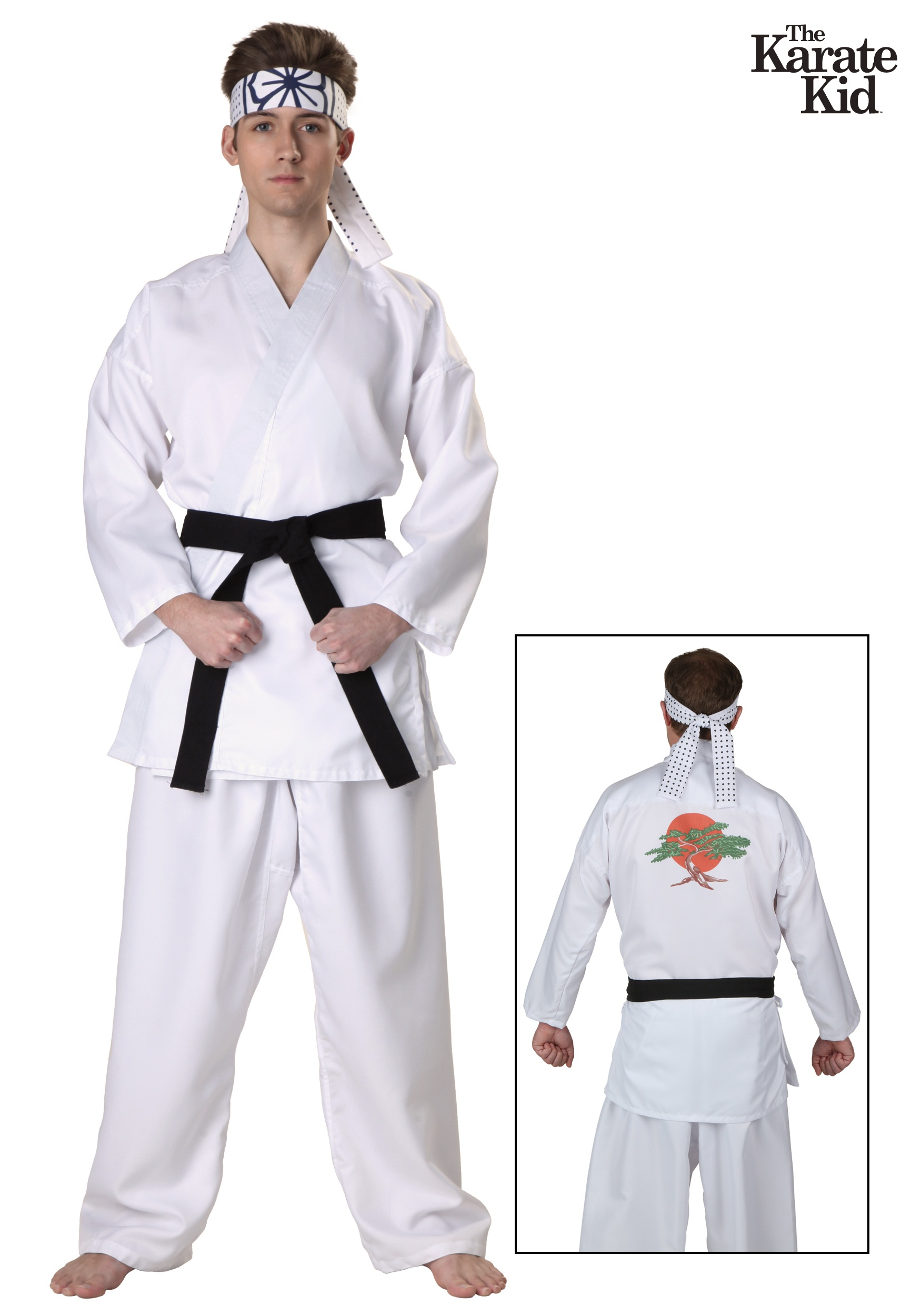 Karate Kid Daniel San Costume With Bonsai Embroidery