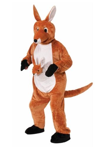 Jumpin Jenny Kangaroo Mascot Costume