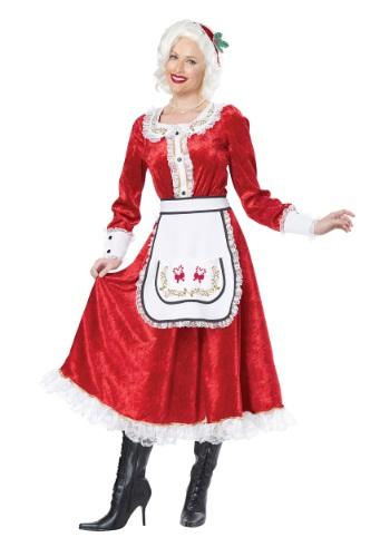 Classic Mrs. Claus Costume