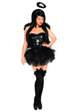 Womens Dark Angel Corset Costume