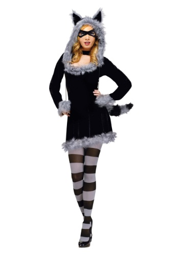 Racy Raccoon Adult Costume