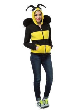 Adult Bumble Bee Hoodie Plus Size