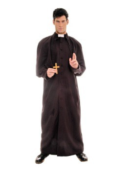 Men's Deluxe Priest Costume