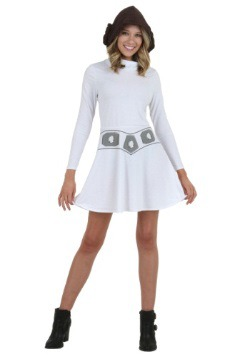 I Am Leia Women's Hooded Skater Dress