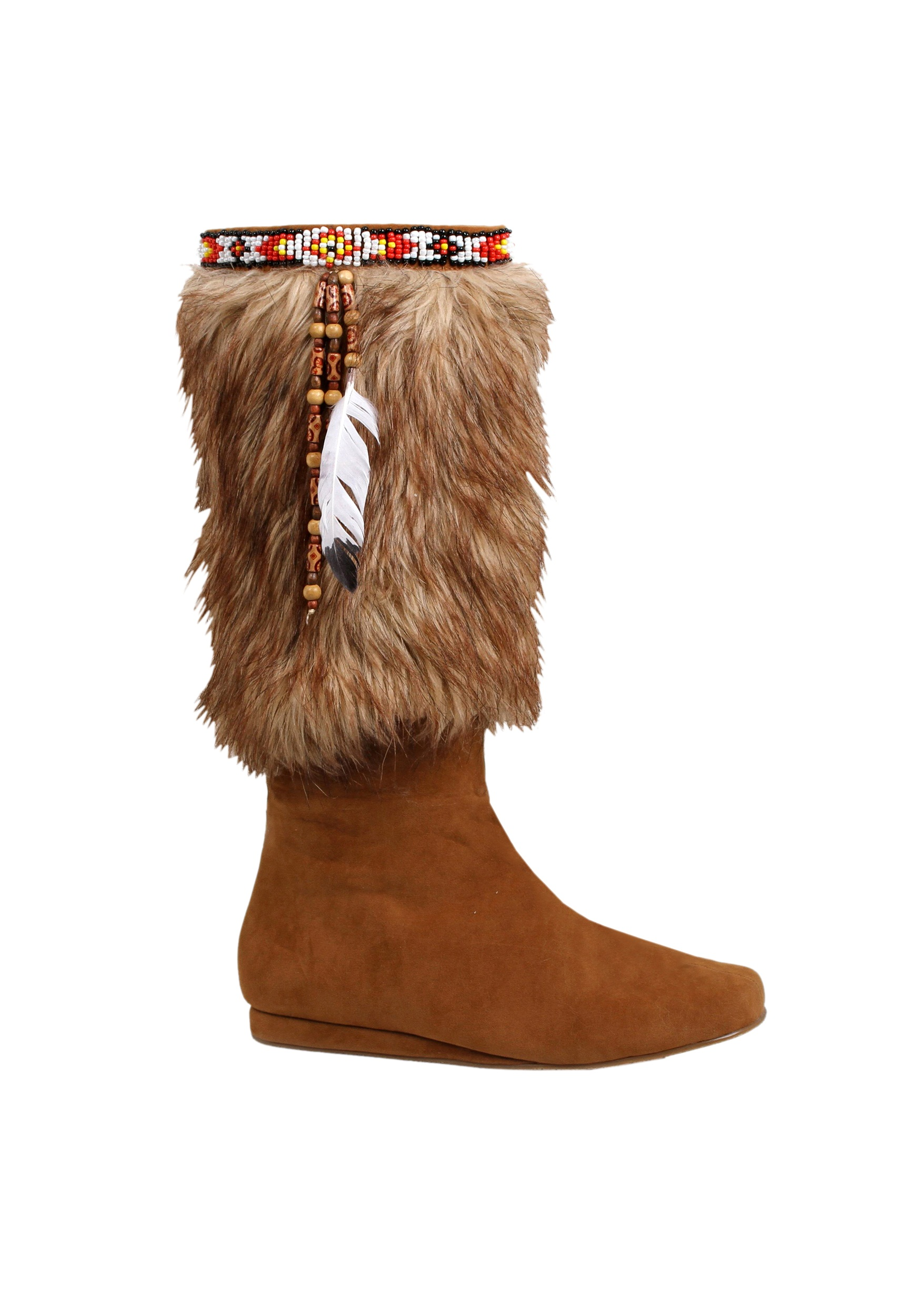 Adult Brown Native American Boots