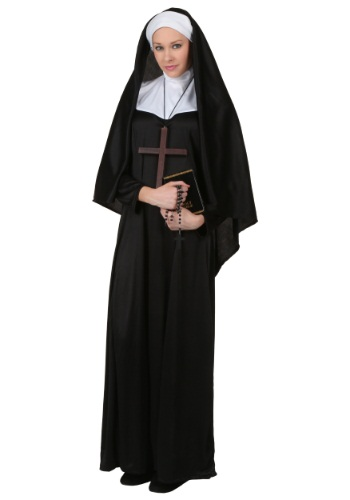Plus Size Traditional Nun Costume