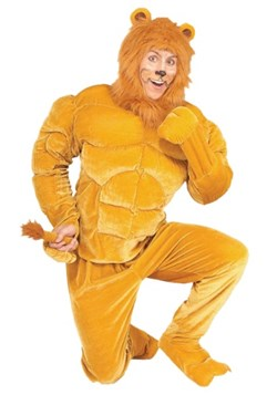 Plus Size Macho Lion Costume