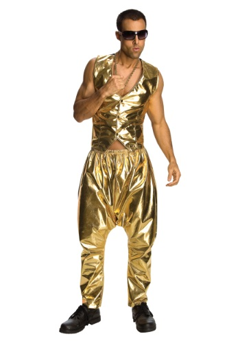 Gold MC Hammer Pants
