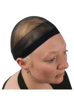 Black Wig Cap