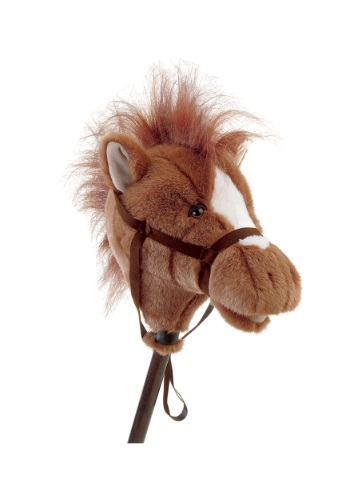 """Easy Ride'Um Brown Horse 33"""" Horse on a Stick"""