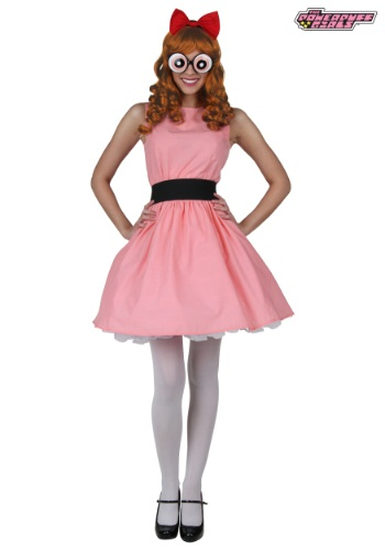 Plus Blossom Powerpuff Girl Costume