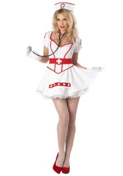 Women's Plus Size Nurse Heartbreaker Costume