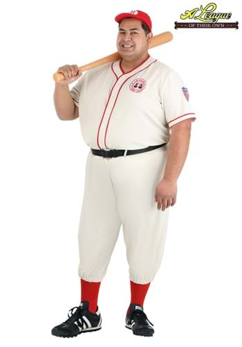 Plus Size League of Their Own Coach Jimmy Costume