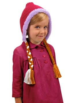 Frozen Anna Child Hat With Braids