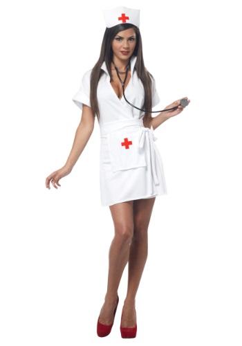 Plus Size Fashion Nurse Costume