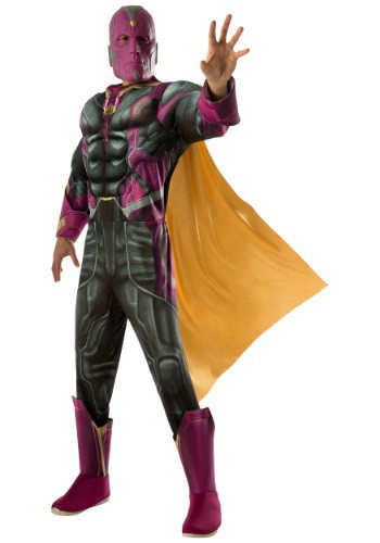 Adult Deluxe Vision Avengers 2 Costume