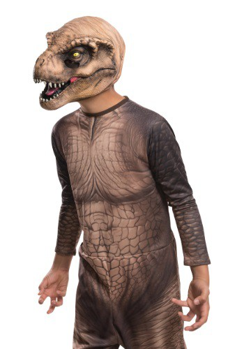 Child Jurassic World T-Rex 3/4 Mask