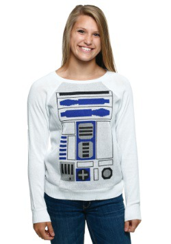 R2D2 Simple Juniors Sweater