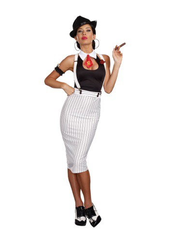 Womens Dirty Work Gangster Costume
