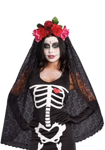Women's Day of the Dead Headpiece