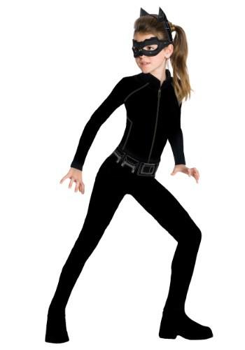 Catwoman Action Suit Dress Up Set