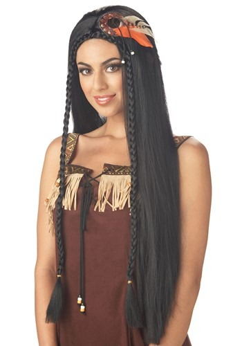 Womens Sexy Indian Princess Wig