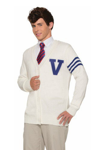 Mens Varsity Sweater Costume