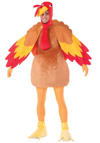 Adult Deluxe Turkey Costume