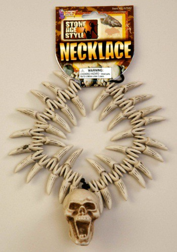 Skull And Teeth Necklace