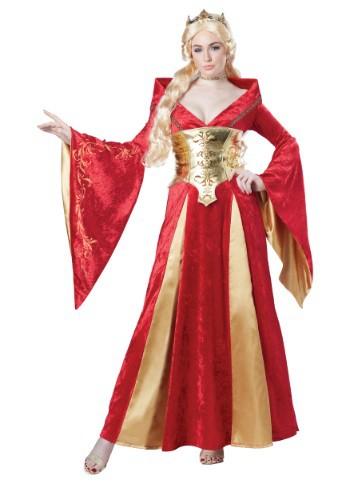 Women's Medieval Queen Costume