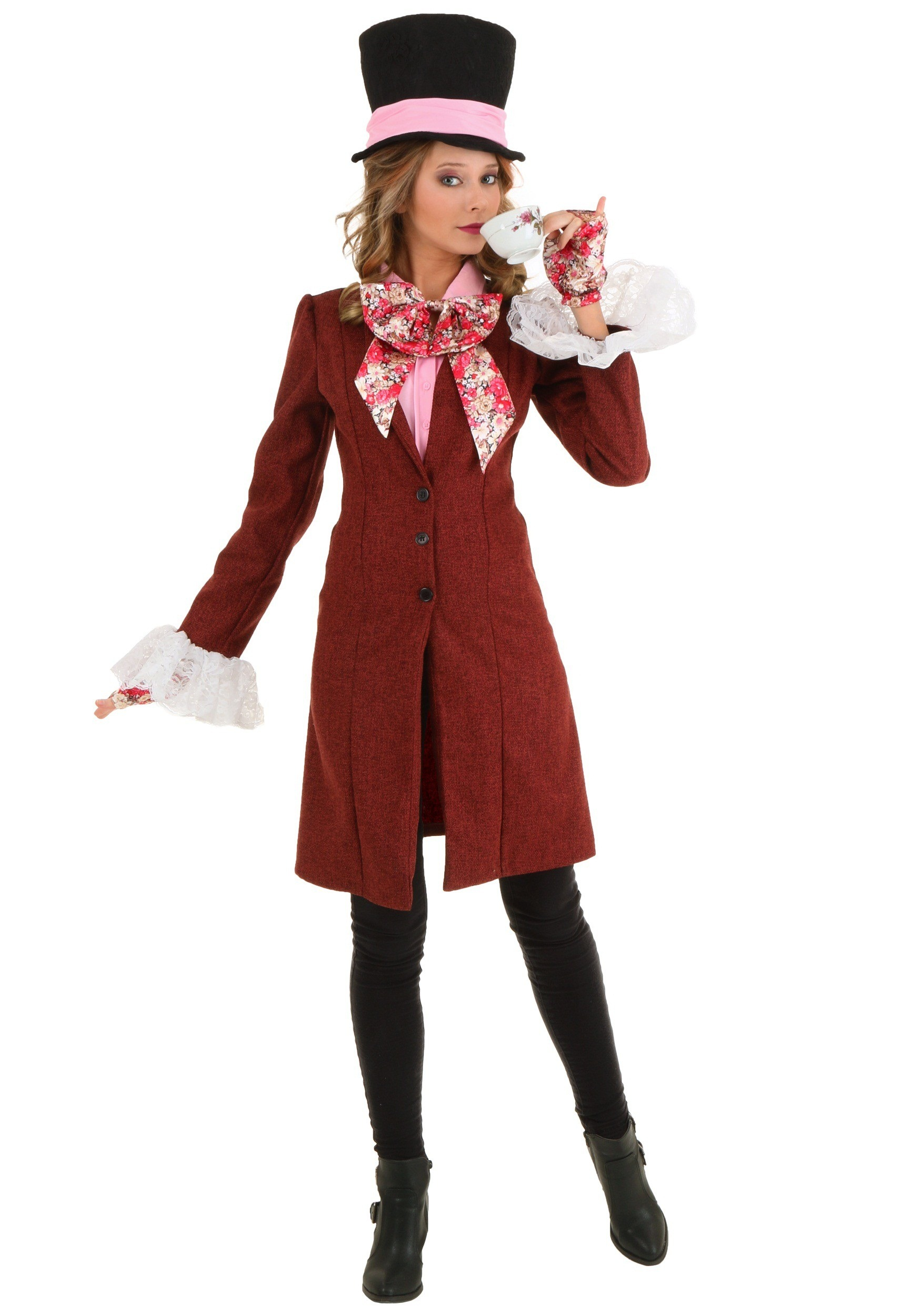 Deluxe Women s Mad Hatter Costume 8ef9e1f76ab