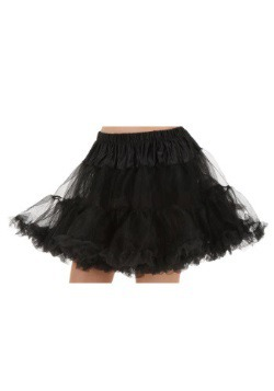 Plus Black Petticoat