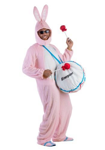 Adult Energizer Bunny Mascot Costume