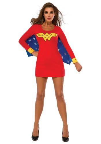 Women's Wonder Woman Cape Dress