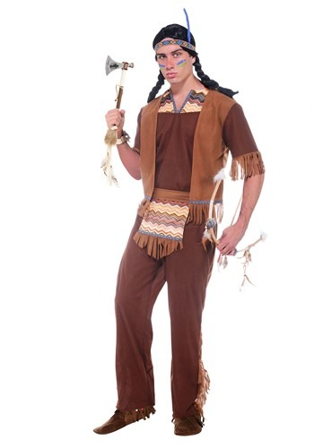 Men's Brave Warrior Costume