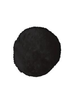 Deluxe Black Plush Bunny Tail