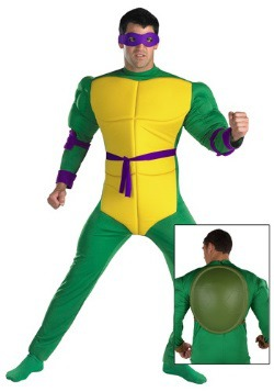 Mens Donatello Ninja Turtle Costume