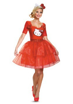 Hello Kitty Adult Deluxe Costume