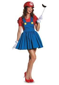 Womens Mario Skirt Costume