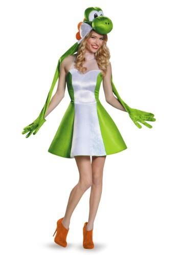 Womens Yoshi Skirt Costume