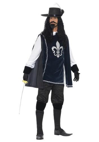 Men's Brave Musketeer Costume