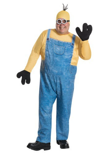 Plus Size Minion Kevin Costume